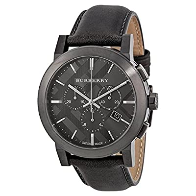 Mens Burberry The City Chronograph Watch BU9364