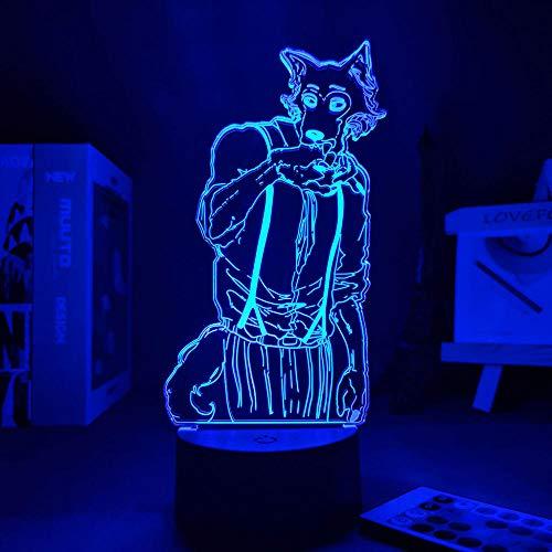 Lámpara De Ilusión 3D Luz De Noche Led Personajes De Dibujos Animados De Lego Decoran Los Regalos De Cumpleaños De Los Niños Para La Entrega Del Dormitorio De Los Niños