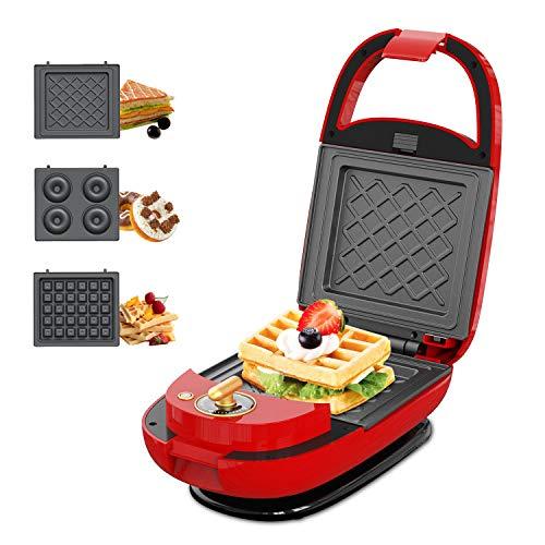 ECX Sandwich Maker Waffle Maker Donut Maker