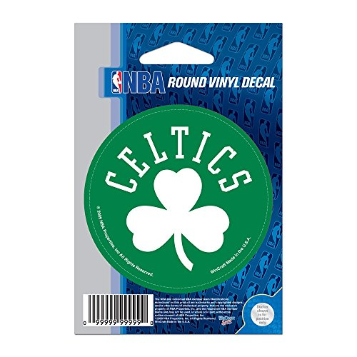 NBA Boston Celtics WCR66664091 Round Vinyl Decal, 3' x 3'