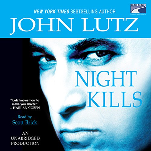 Night Kills audiobook cover art