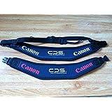 Canon キャノン CPS カメラストラップ プロ支給品 白文字/赤文字 2個セット [並行輸入品]
