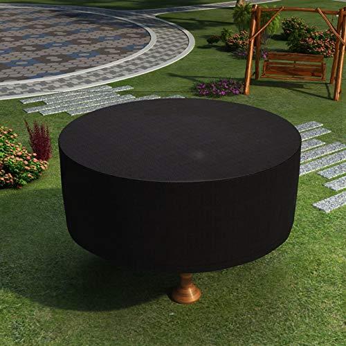 HYDL Fundas Muebles Jardín, Cubierta de Muebles de Mesas, Funda práctica para Sus Muebles de jardín, mesas de jardín y Juegos de Muebles, Impermeable 210D Oxford Transpirable