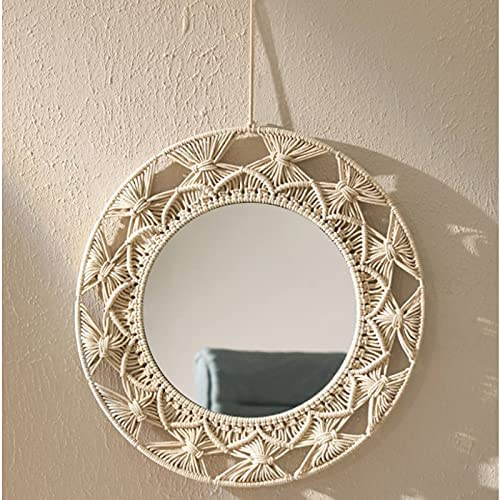 xunyang Macrame Tapestry New Shipping Free Wall Cash special price Hanging Decorative Mirror Knot Kni