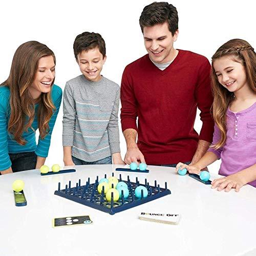 KALL Desktop Bouncing Ball Game,Gegen intellektuelles Freizeitspielzeug,Multiplayer-Spiel,Kinder Toy,Party Spiel für Family Fun,Denkspiel Set,Wettbewerbsspiel,EIN Ultimatives Face-to-Face-Spiel