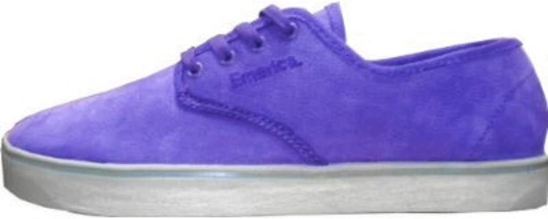 Emerica Skateboard Schuhe Laced Gaudy grau grau grau lila B0055M7QB4  Kaufen Sie online 390dd1