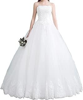 womens white wedding dresses