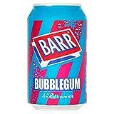 Barr Bubblegum 330ml (Packung mit 24 x 330 ml)