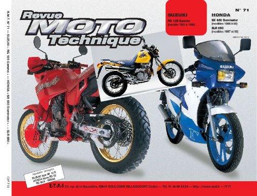 E.T.A.I - Revue Moto Technique 71.3 - SUZUKI RG 125
