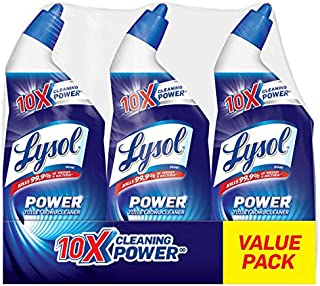 Lysol Lysol Power Toilet Bowl Cleaner, 10x Cleaning Power, 3 Count