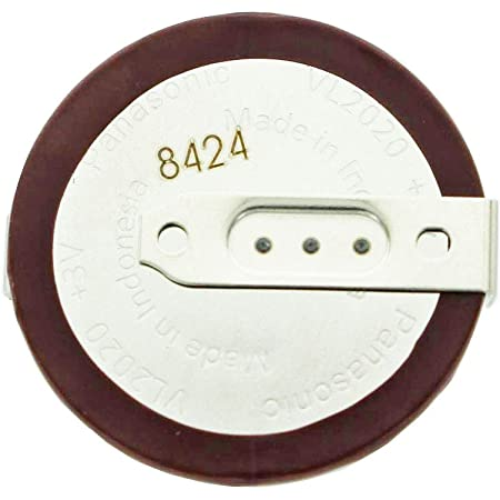 Panasonic Vl2020 1hf Knopfzelle Vanadium Lithium Akku Elektronik