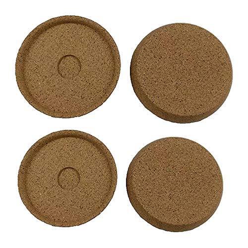 WDHXD Juego de 4 posavasos multiusos reutilizables y duraderos para taza de té, mesa de bar
