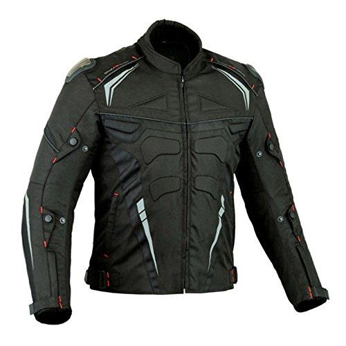 Proviz Veste de moto Xtra Protection CE Armour pour homme (4XL)