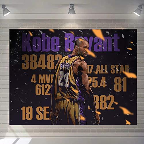 NMABY James Basketball-Player Tapices, Decoración de Dormitorio Colgante de Pared para Hombres Mujeres Adolescentes College Dormitorio Decoración Decoración Sala de Estar black6-150cm*110cm