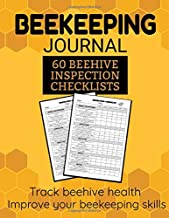 Beekeeping Journal: Beekeeping Journal | 60 Beehive Inspection Checklist Sheet | Gift for Beekeepers