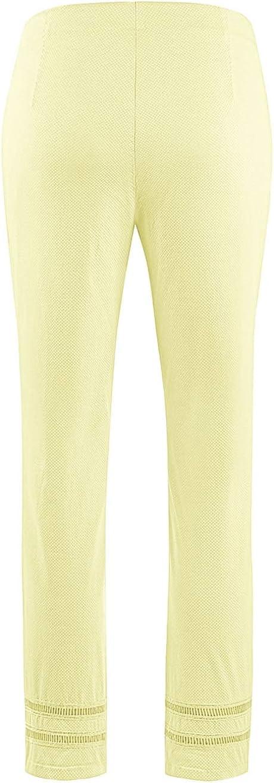 Stehmann Pantalon Femme Tender Yellow
