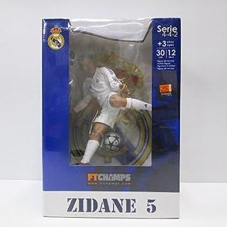FTCHAMPS サッカー フィギュア レアルマドリード ジダン 高さ:30cm ヨーロッパカップ グラスコー 2002515 ボレーシュート