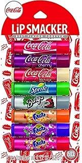 Lip Smackers Coca Cola Fanta Sprite Coke Bargs, Set of 8 Lip Balms