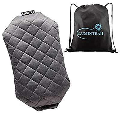 Klymit Luxe Camping Pillow Bundle with a Lumintrail Drawstring Bag
