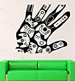 Wall Stickers Vinyl Decal Video Games Gamer Xbox Playstation Decor 56cm x 88cm