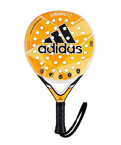 adidas Padel Racket -Adizero 1.7 -Carbon 3K Hidden and Smart Holes - Paddle Racket- Pop Tennis Paddle - Intermediate Players