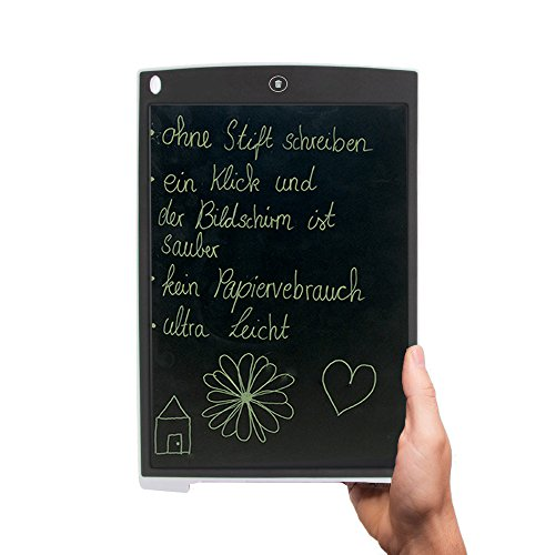CLE CARDAN LIGHT EUROPE LCD Notiz Tablet mit 12 Zoll Display - Schreibtafel - Grafiktablett - Schreibpad - extra Slim