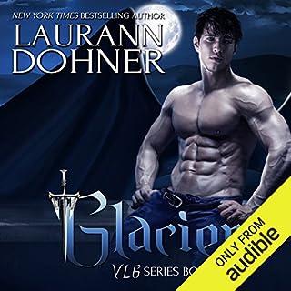 Glacier audiobook cover art