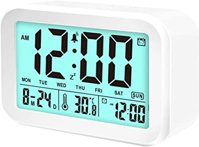 ADE Radio Reloj CK 1702. Reloj Digital, con DCF Tiempo Señal ...