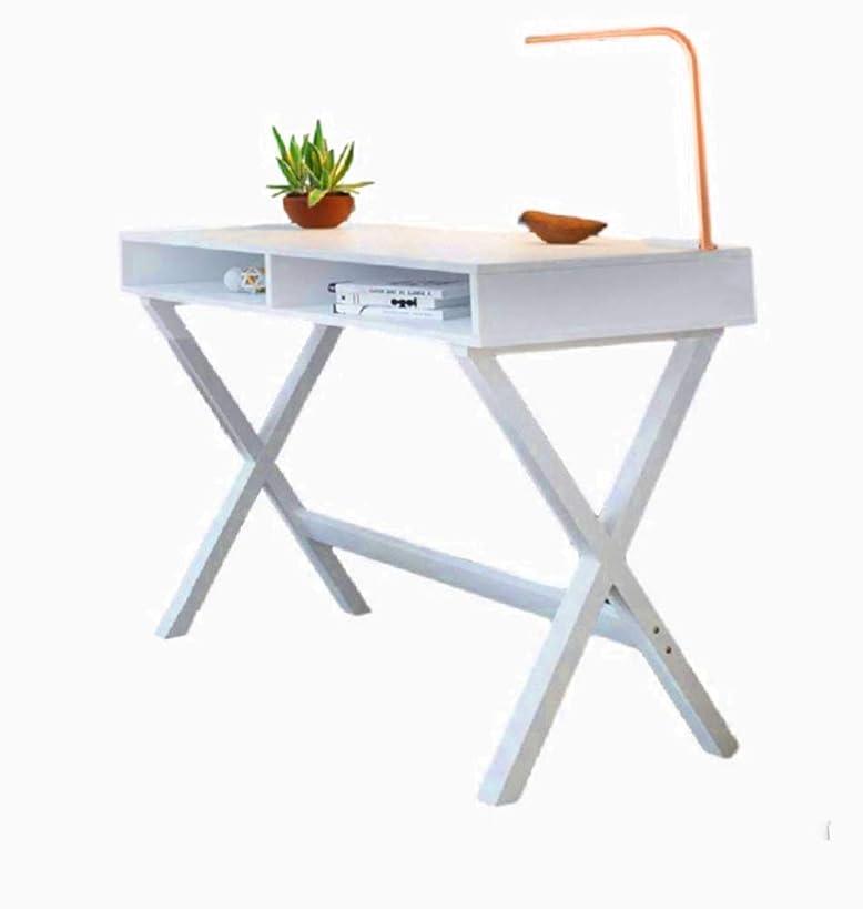 Blogger Desk Computer Lamp Office Standing Decor Wood Student 2 Storage Table Corner Modern Unit & Ebook by AllTim3Shopping.
