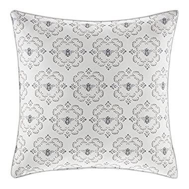 Stone Cottage Throw Pillow, 20 x 20, Bee Medallion