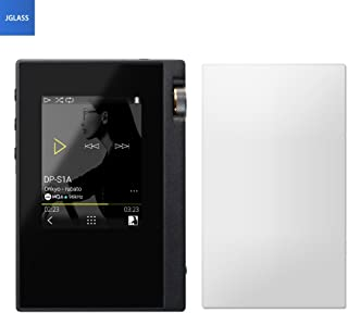 ONKYO rubato DP-S1A / DP-S1 /Pioneer private XDP-30R / XDP-20 ガラス フィルム DP-S1 / XDP-30R 強化ガラス 液晶保護フィルム 気泡防止 指紋防止 硬度9H級 0.33mm JGLASS (ONKYO DP-S1/XDP-30R)
