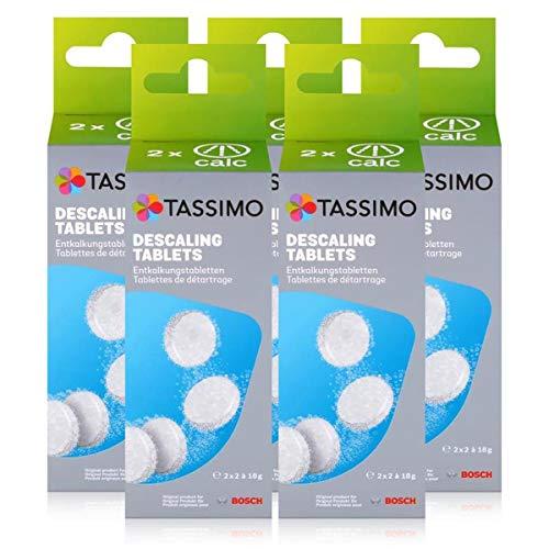 Bosch TCZ6004 Enkalkungstabletten für alle Tassimo Getränke-Automaten ( 5er Pack )