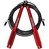 Kronos cuerda para saltar de alta velocidad - Comba de crossfit para salto doble y cable extra - 3mt