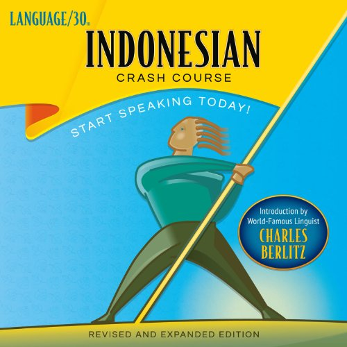 Indonesian Crash Course audiobook cover art