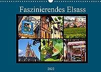 Faszinierendes Elsass (Wandkalender 2022 DIN A3 quer): Ein Stueck Frankreich von seiner schoensten Seite (Monatskalender, 14 Seiten )