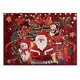 MagiDeal Santa Claus en Nochebuena 1000Pieces Jigsaw Puzzle