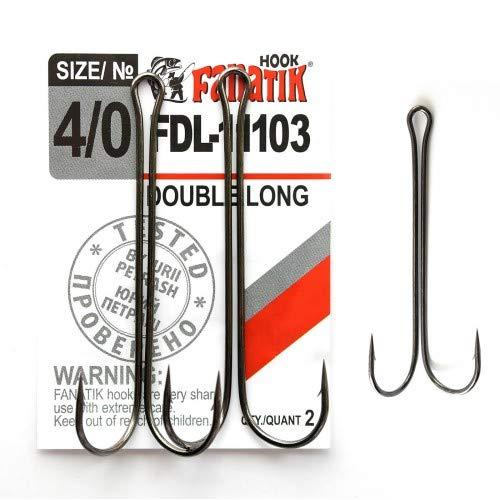 4 8 FANATIK Haken MIKRO-JIG S-57 gr 1 jig Angel Fishing Hook f/ür Gummik/öder 6 10 2