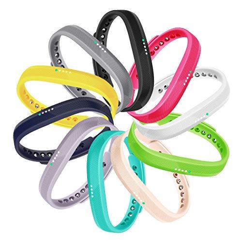 it-power Flex 2 Bracelet,Silicone Sport Remplacement Accessoire Bande Bracelet pour Flex 2