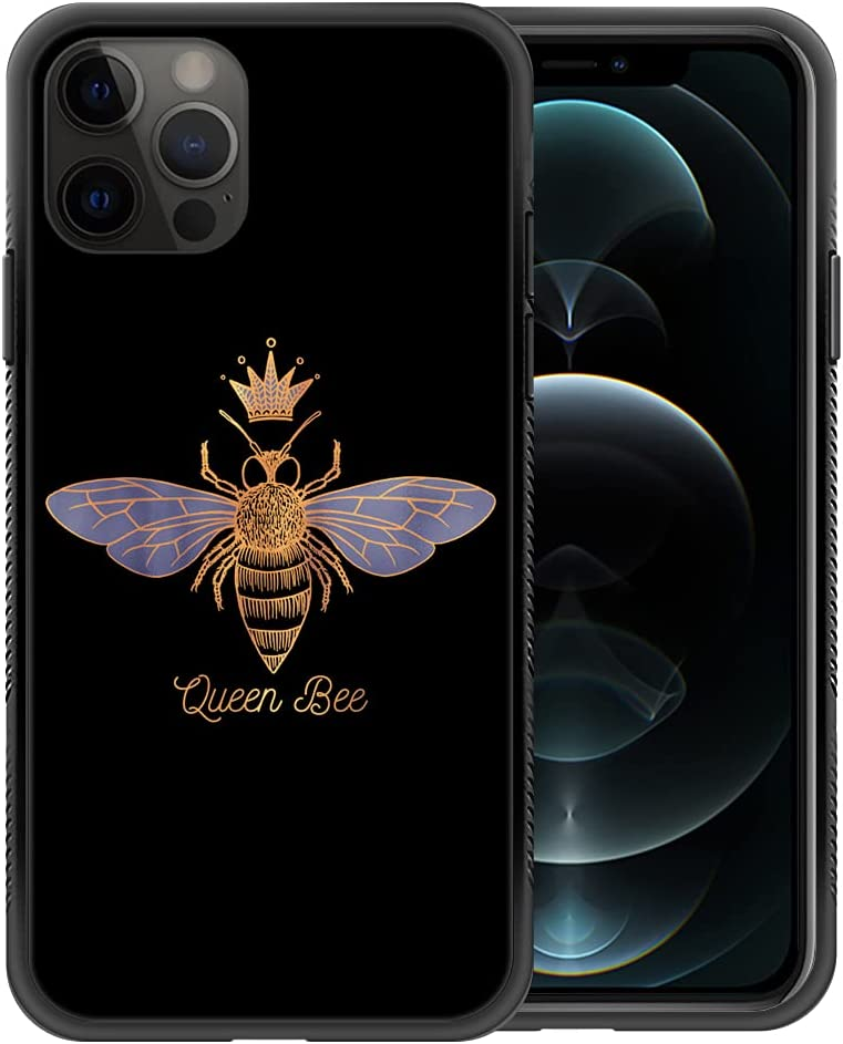 ZHEGAILIAN iPhone 11 Pro Max Case,Queen Bee iPhone 11 Pro Max Cases for Girls Woman,Non-Slip Design Personalized Cool Pattern Back Cover Soft TPU Bumper Frame Support Case for iPhone 11 Pro Max 6.5in