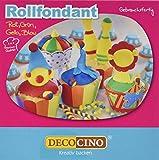 Rollfondant Bunt, 4 Farben, 1er Pack (4 x 100 g) -