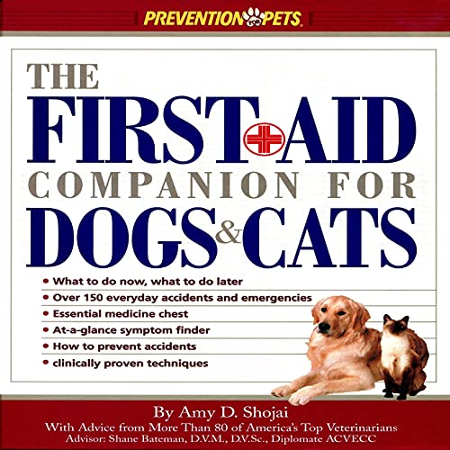 The First-Aid Companion for Dogs and Cats cover art