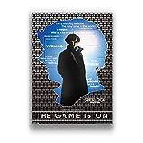 nishangyuyi Carteles Impresos Pintura De Pared Serie De TV Sherlock Película Pared Arte Lienzo Pintura Cuadros Decoración del Hogar Mural Cartel Sin Marco A1121 40X60Cm