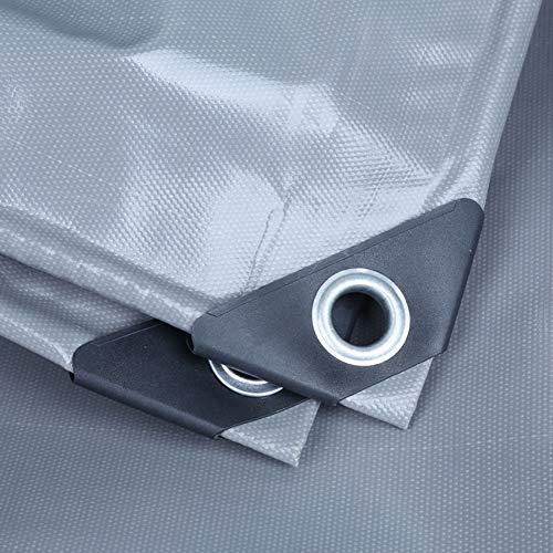 Lona Impermeable Encerado De Coches Cubierta del Fuego Retardante De Llama De Material Anti-UV con Perforaciones De Protección De Muebles Al Aire Libre De La Cubierta De Protección Solar