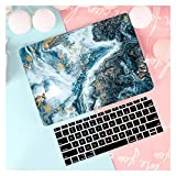 GYY Funda de Cuero/Tela para MacBook Air 13 A2338 M1 A2179 A2337 A1932 Pro 13 15 A2159 A1466 A1708 Tapa Dura + Teclado (Color : Rs852, Size : Pro 13 A1706 A1989)