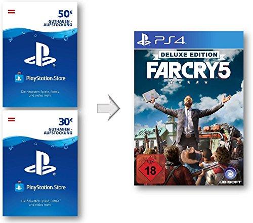 PSN Guthaben Aufstockung für Far Cry 5 Deluxe Edition | PS4 Download Code - österreichisches Konto