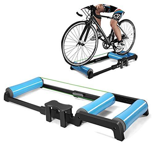 WUFENG Plate-Forme d'entraînement de Rouleaux de vélo, entraîneur de Rouleaux...
