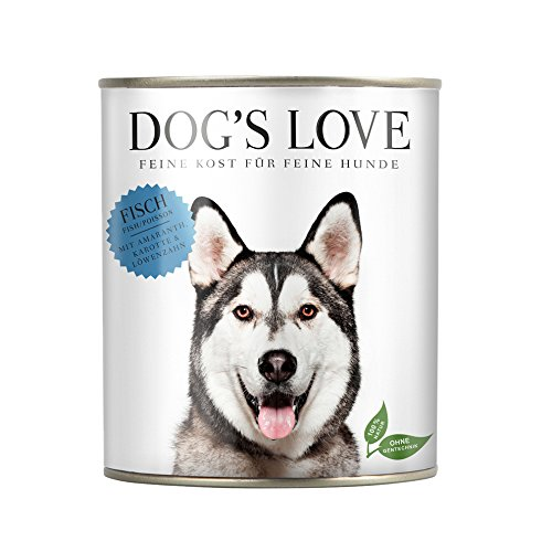 Hundefutter getreidefrei Nassfutter in verschiedenen Sorten mit wichtigen Nährstoffen – Premium Hunde Nahrung Made in Austria – von Veterinären geprüft – Fisch Adult (6 x 800g)
