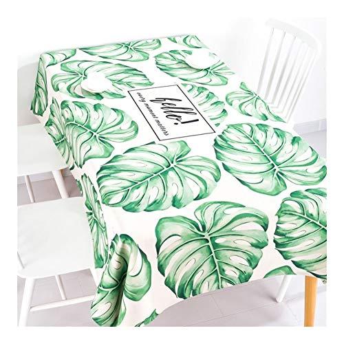 Mantel rectangular para decoración de aceite, impermeable, café, fácil de usar en casa, mantel fácil de limpiar, 1#, 220*140cm