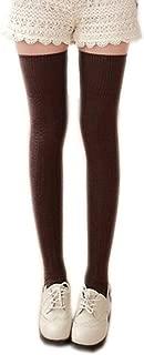 AnVei-Nao Womens Girls Winter Over Knee Leg Warmer Knit Crochet Socks Leggings