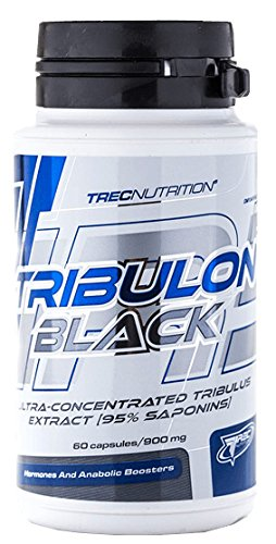 Trec Nutrition Tribulon Black Testosteronbooster Booster Trainingsbooster Supplement Bodybuilding 60 Kapseln